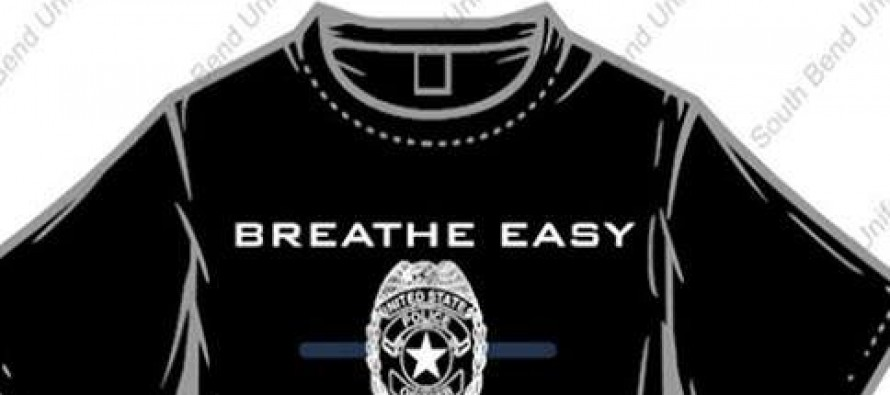 This Shirt was Released by a Police Officer in Response to the 'I Can't Breathe' Shirts