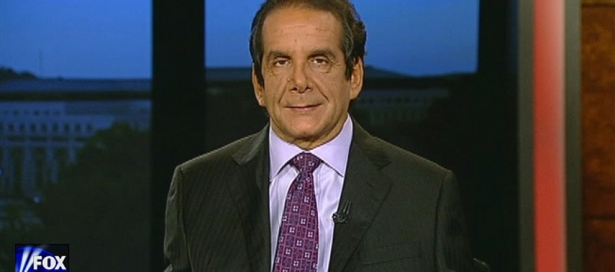 Charles Krauthammer: There is a War on Police, Not Young Black Men (WATCH)