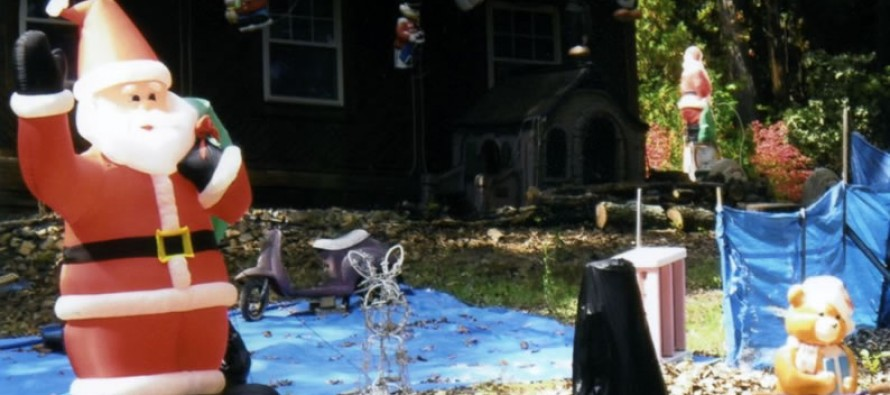 Man terrorizes neighbors with horrific Christmas display that includes a beheaded choir