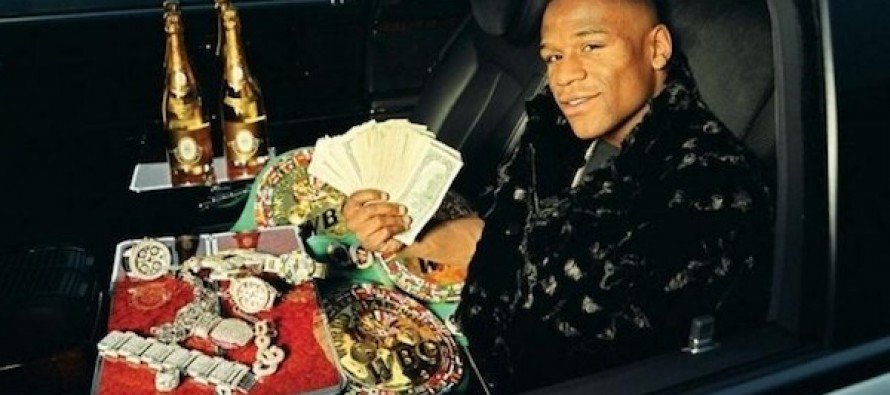 Millionaire Boxer Floyd Mayweather Claims He Would Have Made More If He Was White (VIDEO)