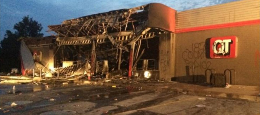 Stepdad of Michael Brown Incites Ferguson Riots: 'Burn This B*** Down!'