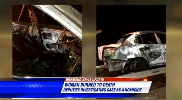 Jessica Chambers' Burned Out Car