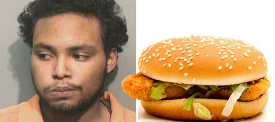 Man JAILED For Using McDonald's McChicken Sandwich As A Weapon Against Pregnant Wife