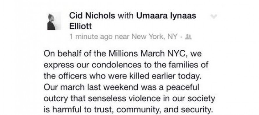 """VIDEO: Just 8 Days Ago In New York, Protesters Chanted """"What Do We Want? Dead Cops! When Do We Want It? Now!"""""""