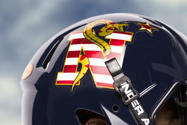 navy helmet