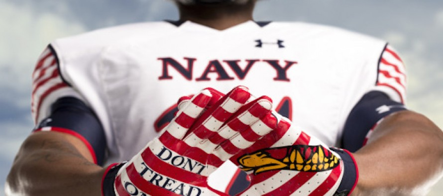 After Navy SEALs Were Told Not to Wear 'Don't Tread On Me' Symbol, Navy Snagged These Sweet Football Uniforms