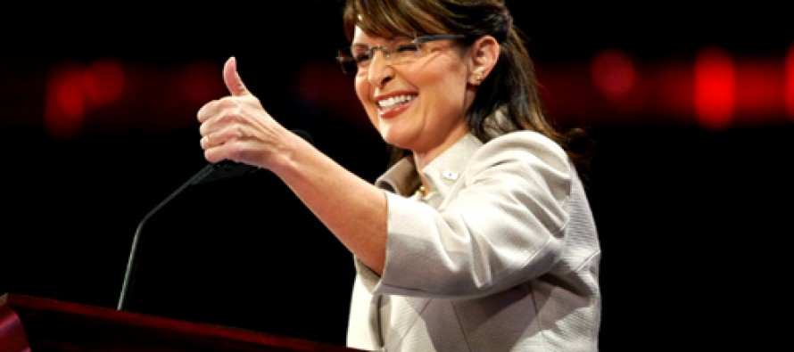 Sarah Palin Posts Meme Lampooning Obama on Ferguson and Executive Orders; Will Leftist Heads Explode?