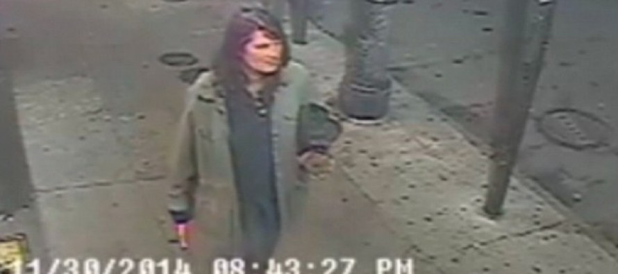 VIDEO FOOTAGE of Woman Stabbing Strangers On Street, Identity UNKNOWN