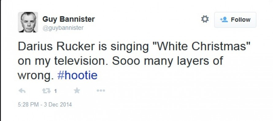 """Darius Rucker Attacked for Singing """"White Christmas"""" During """"#NoJusticeNoTree"""" Protests"""