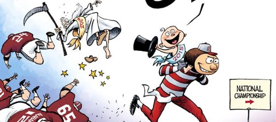 LOCAL OH – Buckeye New Year (Cartoon)
