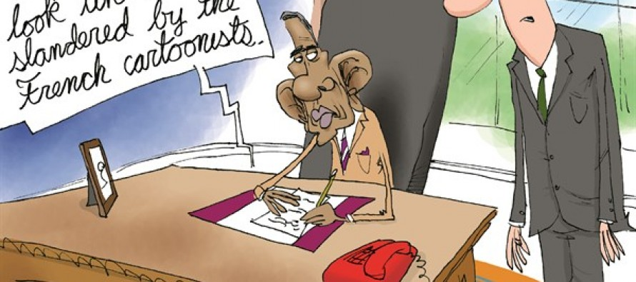 Obama's Prophet Son (Cartoon)