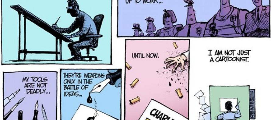 Just a Cartoonist (Cartoon)