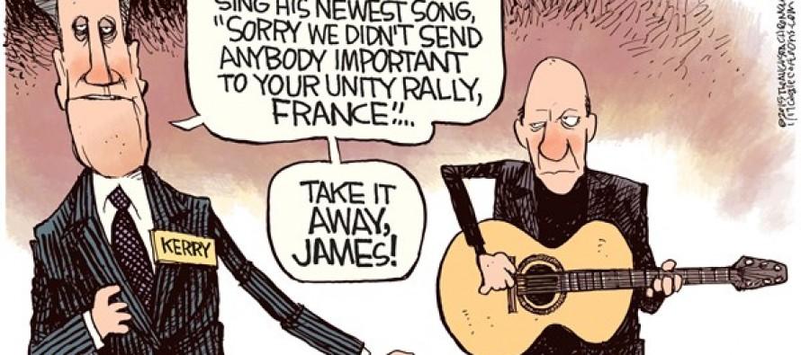 James Taylor Diplomacy (Cartoon)