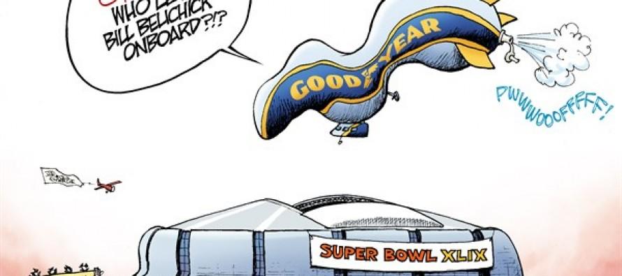 Super Bowl Deflation (Cartoon)