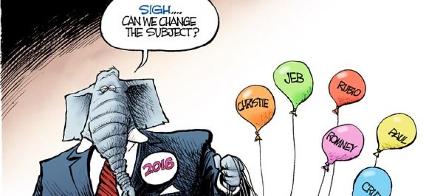 GOP Deflate-Gate (Cartoon)