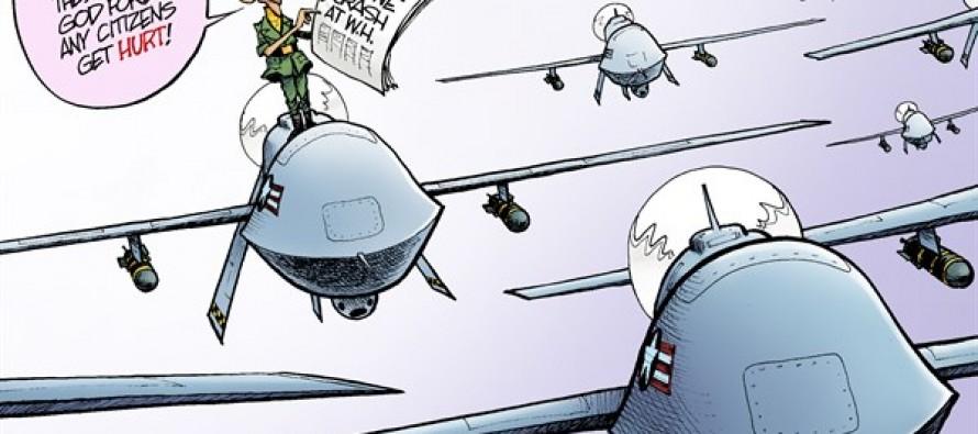 Drone Crash (Cartoon)