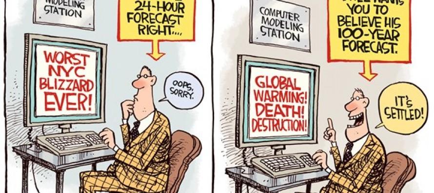Blown Forecast (Cartoon)