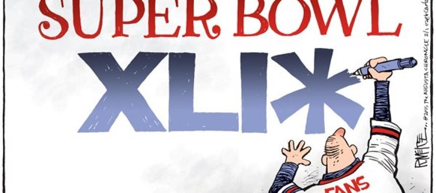 Super Bowl XLIX (Cartoon)