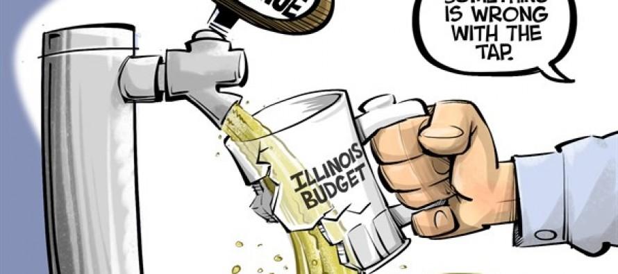 LOCAL IL Broken budget (Cartoon)