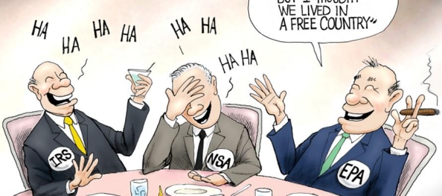 At Freedom's Expense (Cartoon)