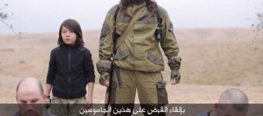 Horrifying New ISIS Video Appears to Show a Boy Executing Prisoners