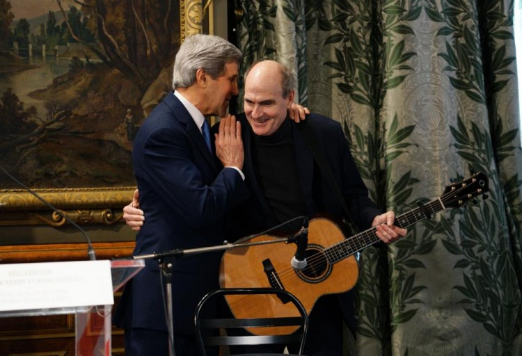 John Kerry james Taylor