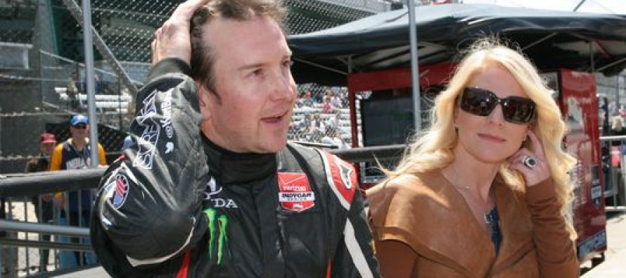 NASCAR driver Kurt Busch claims his ex-girlfriend is a TRAINED ASSASSIN!!! She 'once returned in a blood-splattered gown'