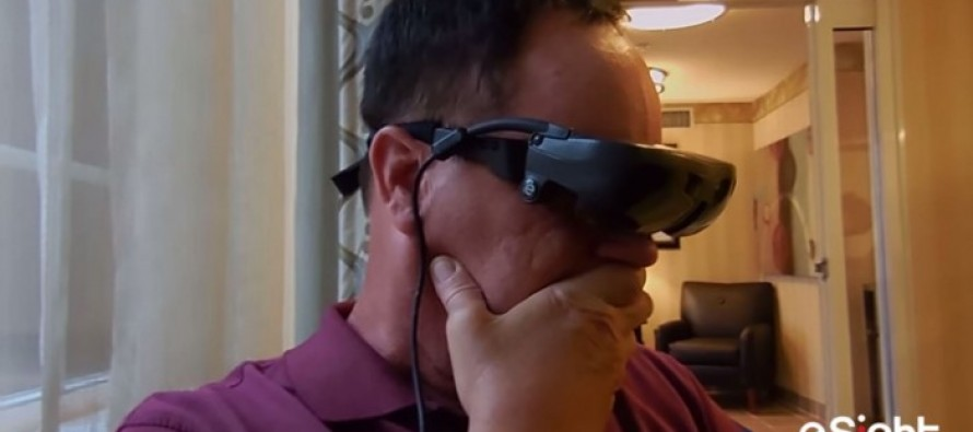 VIDEO Of A Blind Vet Who Sees for the First Time in 20 Years Will Bring You To Tears