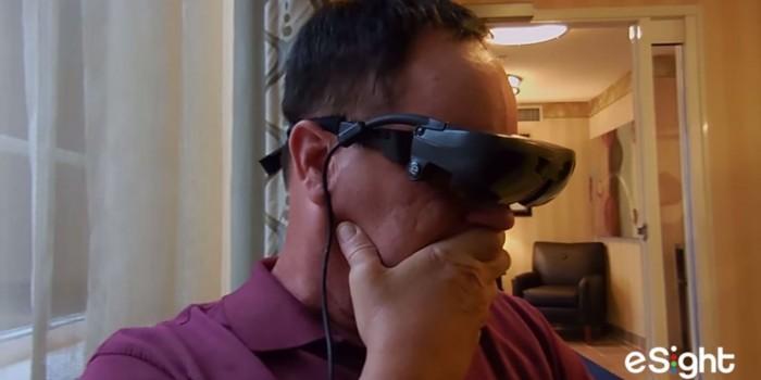 Mark Cornell blind vet