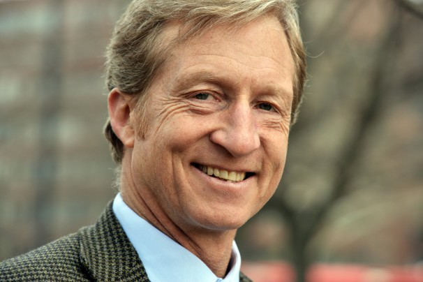 San Francisco billionaire Tom Steyer