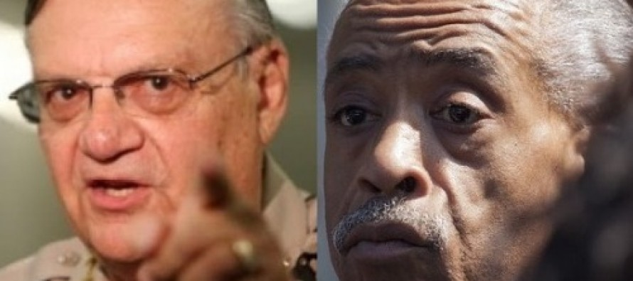 """Sheriff Joe Arpaio Has A Challenge for Al Sharpton: Take the """"Shoot-or-be-Shot"""" Police Test"""