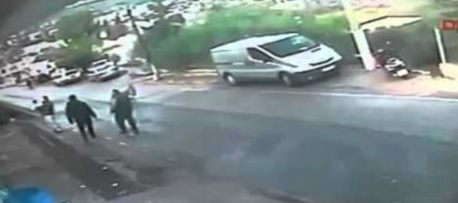 SHOCKING VIDEO: Man Rescues Baby In Runaway Stroller From Landing in a Ditch