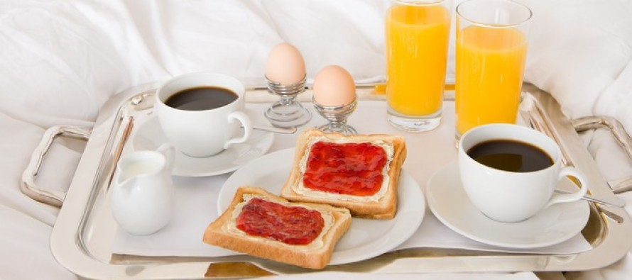 OOPS! Wife shoots hubby who tried to surprise her with breakfast in bed
