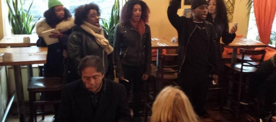 Black Protesters Storm Restaurants in NYC to Target and Harass White People Eating Brunch