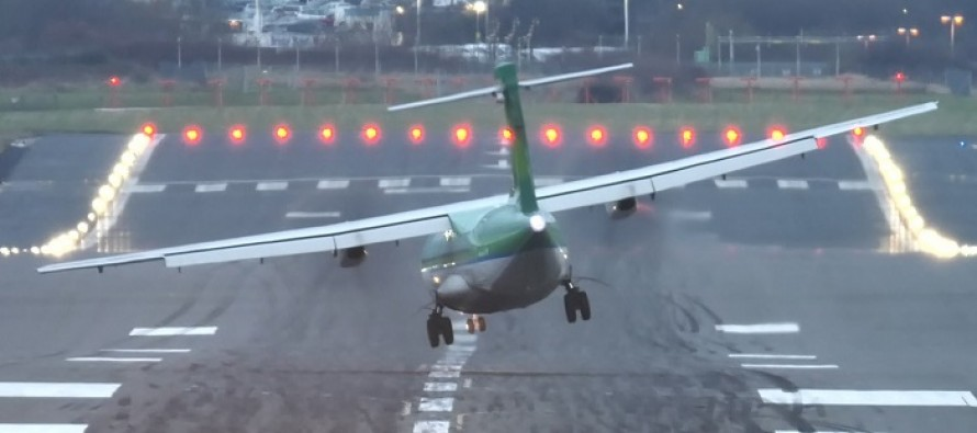 WATCH: Terrifying Footage From Windy Airport Gives a Whole New Meaning to Bumpy Landing