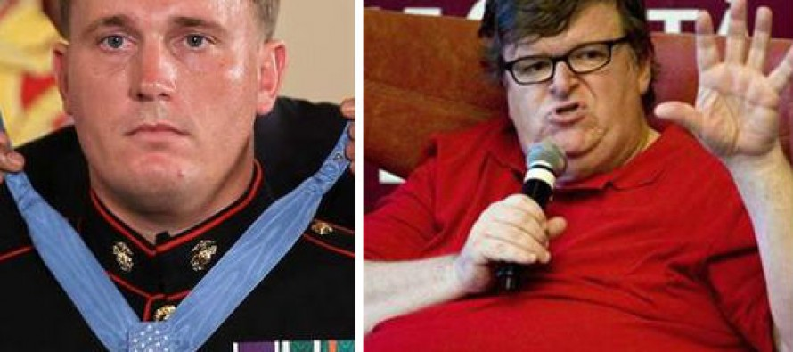 "Medal of Honor Recipient Dakota Meyer Lays Into Michael Moore for 'Coward' Comment: ""I'd Have Loved to See Him Say That to Chris's Face"""
