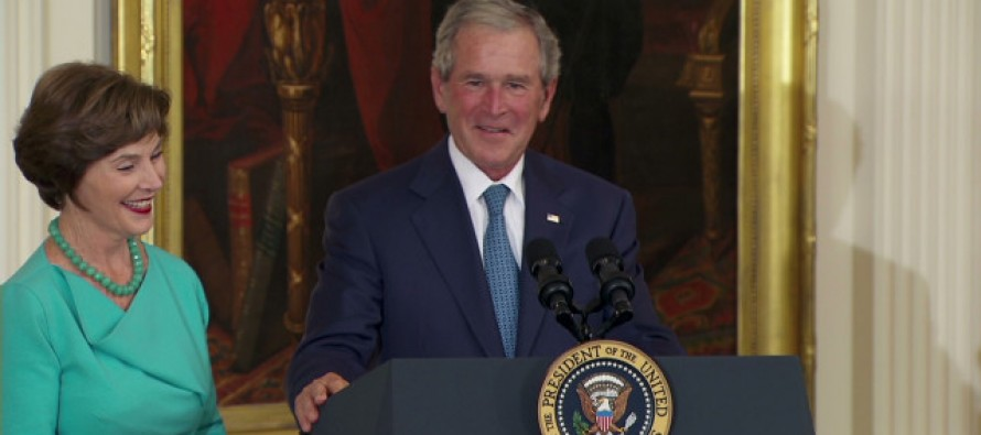 VIDEO: George Bush Destroyed Obama's Ego in His Own House, This is Epic!