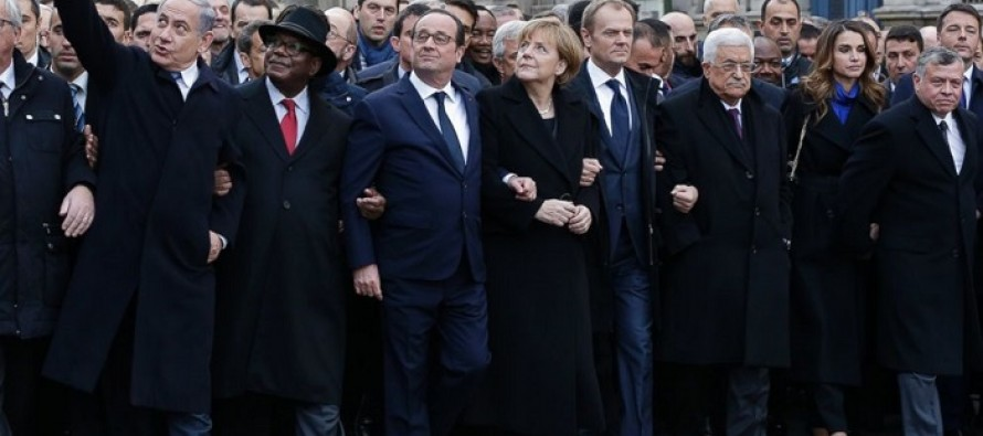 EMBARRASSING: 40 World Leaders Gather in Paris For Freedom Against Terrorism; Obama Prepares to Meet San Antonio Spurs