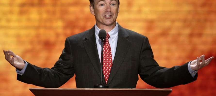 Rand Paul Just Introduced a Bill That Will Cut Aid to Palestinians