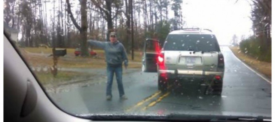 [VIDEO] Road Rage in North Carolina CAUGHT on TAPE!