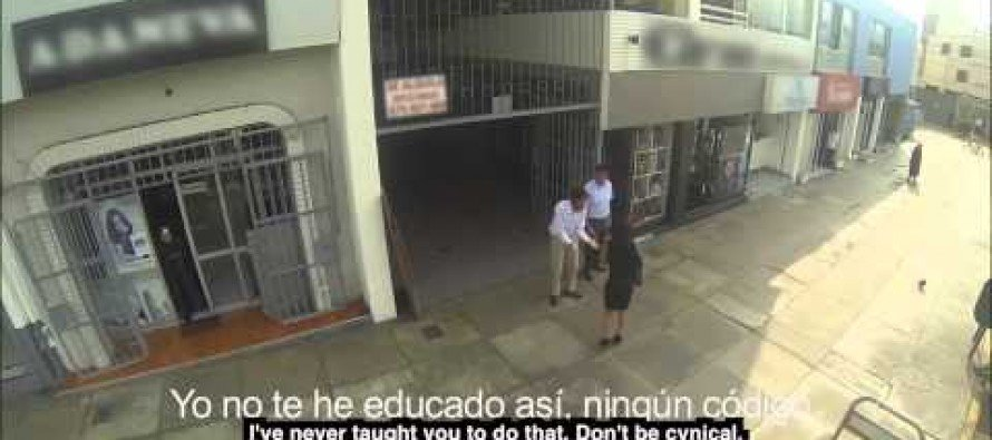 VIDEO: Peruvian men flip out when they discover the women they are sexually harassing are their moms in disguise