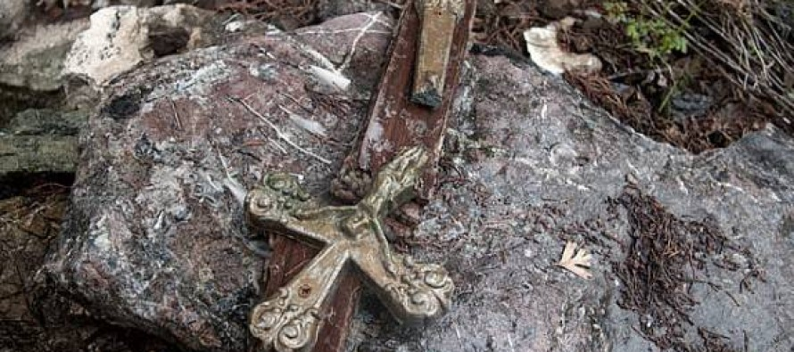 Obama's Moderate Muslim Fighters Take to Burning Churches, Desecrating Christian Graves
