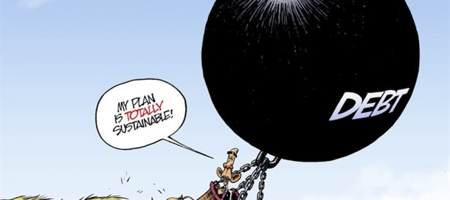 Budget Balloon (Cartoon)