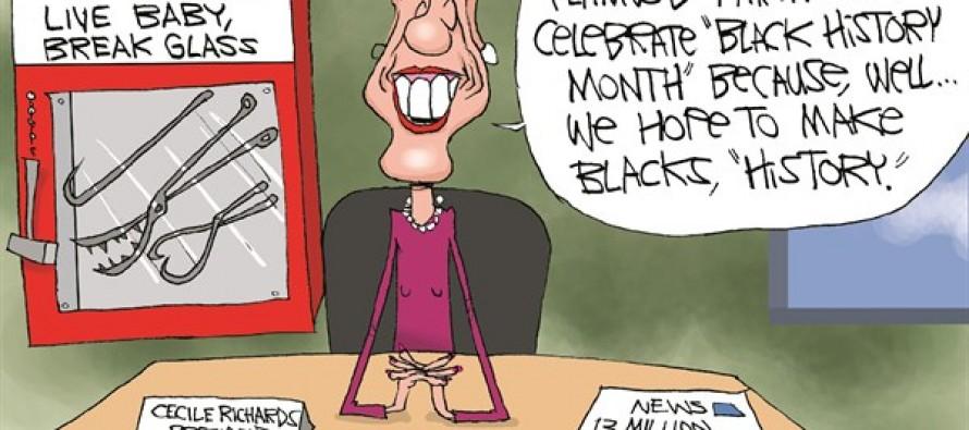 Black History Aborted (Cartoon)