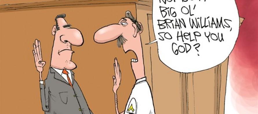 Brian Williams Liar (Cartoon)