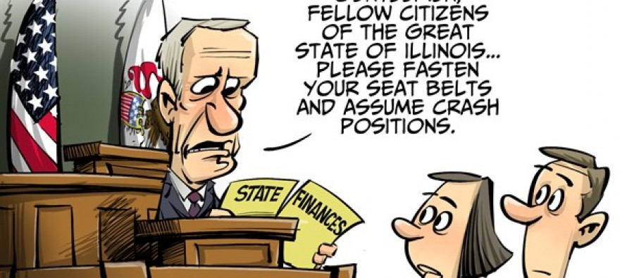 LOCAL IL state of the budget (Cartoon)