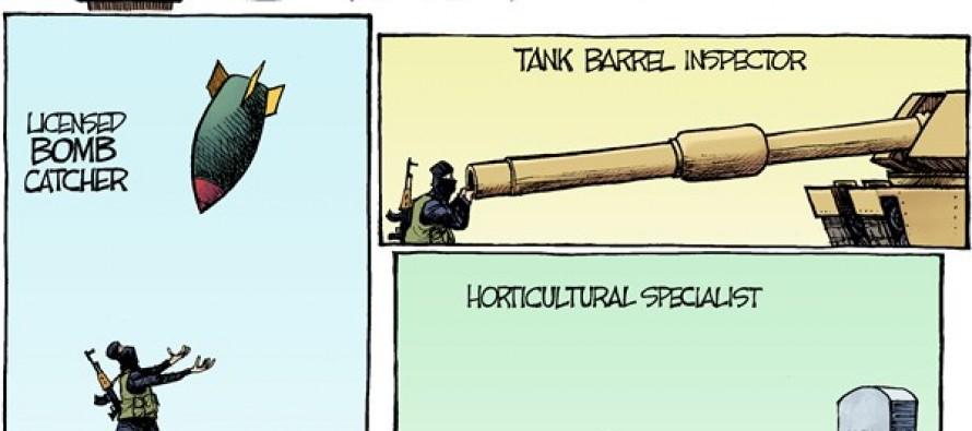 Jihadi Jobs (Cartoon)