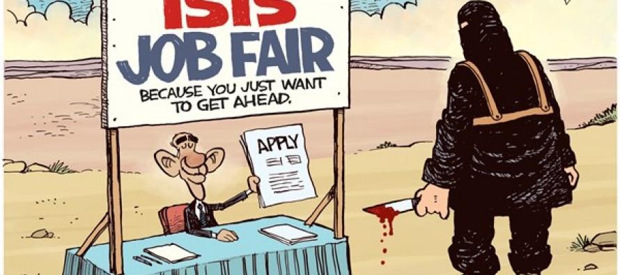 ISIS Job Fair (Cartoon)