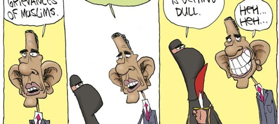 Terrorists Grievances (Cartoon)
