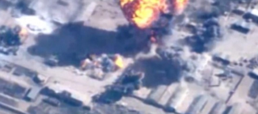 Revenge: Jordan releases video of strikes against ISIS in Operation named after murdered pilot